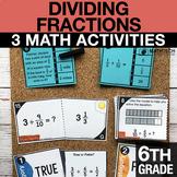 6th Grade Dividing Fractions Activities   6th Grade Google