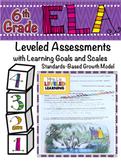 6th Grade ELA Assessment for Reading Literature RL with Pr