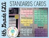 6th Grade ELA CCSS Standards Cards