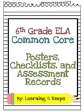6th Grade ELA Common Core Pack