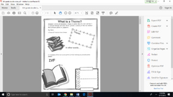 6th Grade ELA Doodle Notes BUNDLE