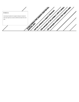 6th Grade ELA Data Tracking Form Standards-Based Checklist