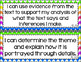 6th Grade ELA I Can Statements for CCSS Standards (Rainbow Chevron)