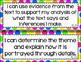 6th Grade ELA I Can Statements for CCSS Standards (Rainbow Dots)