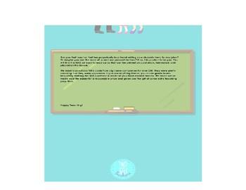 6th Grade ELA TEK Cards