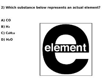 6th Grade Elements Quiz 2