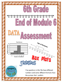 6th Grade End of Module 6 Assessment - SBAC - Editable