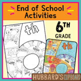 6th Grade End of the Year Memory Book / End of Year Activi