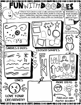 6th Grade End of Year Memory Book | The Doodle Diary of a 6th Grader