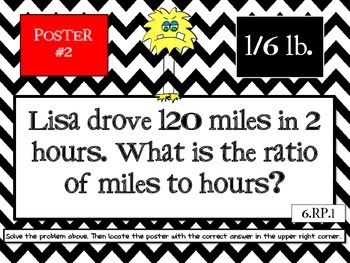 6th Grade End-of-the-Year Math Scavenger Hunt - Common Core Aligned