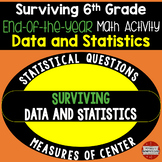 6th Grade End of the Year Math Day (Surviving Data and Statistics)