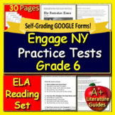 6th Grade Engage NY ELA Test Prep Practice for New York State
