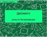 6th Grade Engage NY Eureka Math Module 3 Lessons 1-10 SMART Notebooks