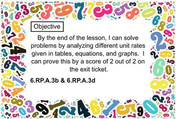 6th Grade Engage NY / Eureka Module 1 Lessons 16-29 Smart Notebooks