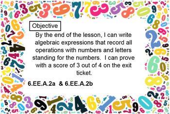 6th Grade Engage NY Eureka math Module 4 Lessons 1-17 SMART Notebooks