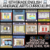 6th Grade English Language Arts: Full School Year of Digit