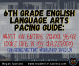 6th Grade English Language Arts Pacing Guide for Entire Sc
