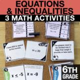 6th Grade Equations & Inequalities   6th Grade Math Center
