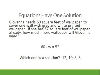 6th Grade Equations and Inequalities Notes Set