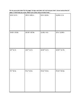 6th Grade Eureka Math Module 1, 2, 3 Review