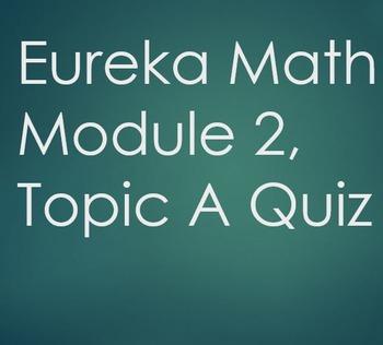 6th Grade Eureka Math - Module 2, Topic A Quiz