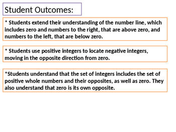 6th Grade Eureka Math Module 3 Integers (formerly Engage NY)