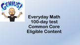 6th Grade Everyday Math 100-day Test - Common Core - Eligi