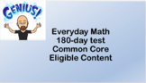 6th Grade Everyday Math 180-day Test - Common Core - Eligi