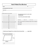 6th Grade Everyday Mathematics / EDM (4) / Math Unit 5 Tes