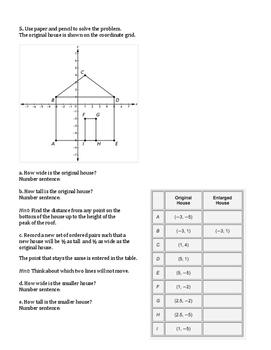 6th Grade Everyday Mathematics / EDM (4) / Math Unit 8 Test Review and Key