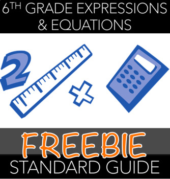 6th Grade Expressions & Equations Standards Guide