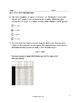 6th Grade Expressions and Equations Quick Checks