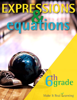6th Grade - Expressions and Equations - Ten Activities