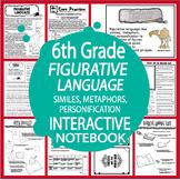 Figurative Language Lesson – Similes, Metaphors & Personification Activities