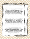 6th Grade Fluency Passages with Comprehension Questions FREEBIE