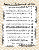 6th Grade Fluency Passages with Comprehension Questions Set C (#21-30)