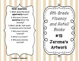 6th Grade Fluency and Retell Books - #13