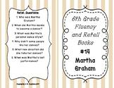 6th Grade Fluency and Retell Books - #14