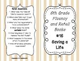 6th Grade Fluency and Retell Books - #16