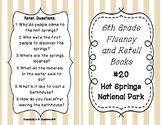 6th Grade Fluency and Retell Books - #20