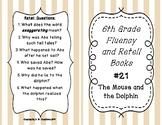 6th Grade Fluency and Retell Books - #21