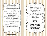 6th Grade Fluency and Retell Books - #22