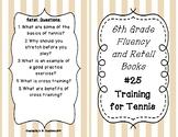 6th Grade Fluency and Retell Books - #25