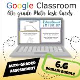 ⭐ GOOGLE CLASSROOM ⭐ 6th Grade Geometry Task Cards