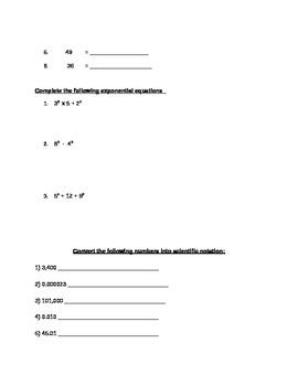 6th Grade General Math Practice