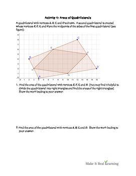 6th Grade - Geometry - Ten Activities