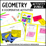 6th Grade Geometry Activity Bundle