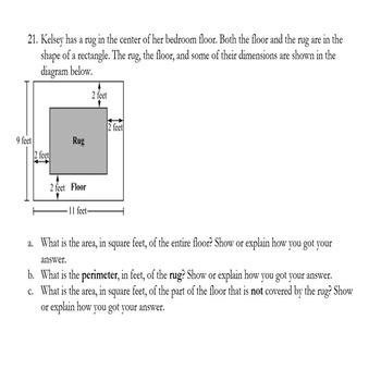 6th Grade Geometry Challenging Math Test