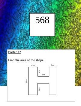 6th Grade Geometry Scavenger Hunt