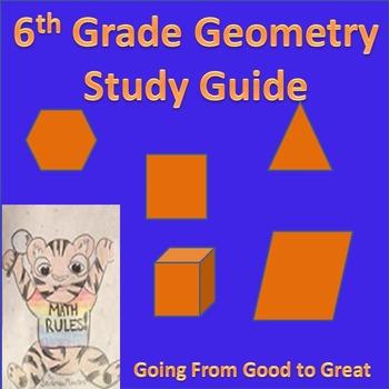 6th Grade Geometry Study Guide